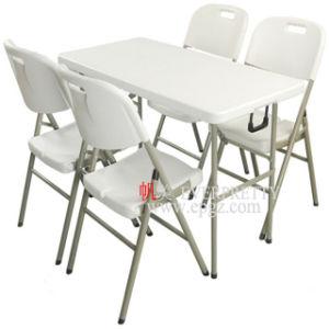 Delicieux Commerce De Gros Meubles De Salle à Manger En Plastique Blanc Tables Et  Chaises De Pliage