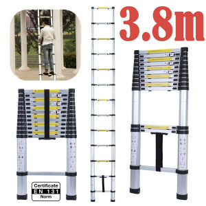 3.85m Aluminum Telescopic Ladder /Step Ladder