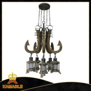 Erfinderische Weinlese-hölzerne hängende Beleuchtung (KAAD-1168B-5)