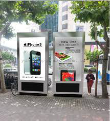 '' Fußboden Yashi im Freien55, der DigitalSignage LCD-Bildschirmanzeige &#160 steht; Bekanntmachen des Spielers
