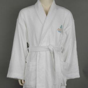 Toalla de Felpa de algodón 100% Collar de mantón Hotel albornoz
