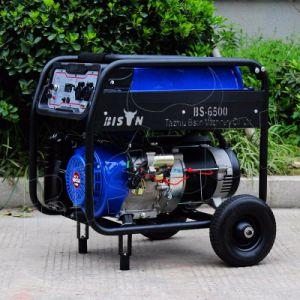 Bison (Chine) BS6500e 5kw en fil de cuivre à démarrage électrique générateur à essence