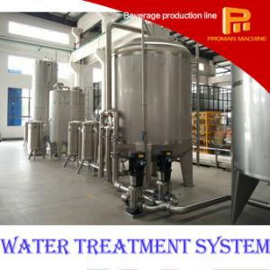 Planta bebendo do tratamento da água da fábrica