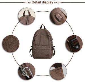 Зарядка через USB для защиты от краж блокировки Vintage долгосрочного отдыха рюкзак полотенного транспортера