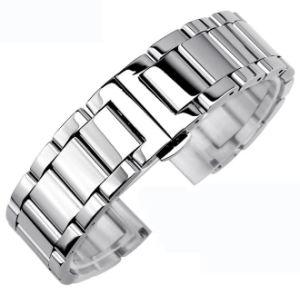voor Riem 3 van het Metaal van het Horloge van het Toestel van Samsung S3 Slimme de band van het Horloge van het Roestvrij staal van Parels voor S3 Klassieke Armband met Spelden