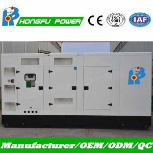 Квт 300-330премьер-резервных источников питания дизельного двигателя Cummins генератор с водонепроницаемый корпус
