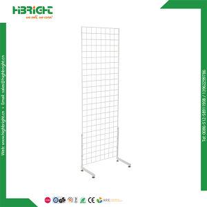Estante de la góndola de la visualización de la pared H del ceñidor del alambre