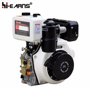 Dieselmotor met de Filter van de Lucht van het Bad van de Olie van de Schacht van de Spiebaan (HR188FA)