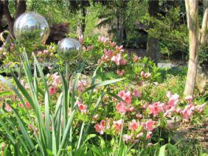 1500mm de tamanho grande jardim exterior de aço inoxidável esfera esfera oco para decoração