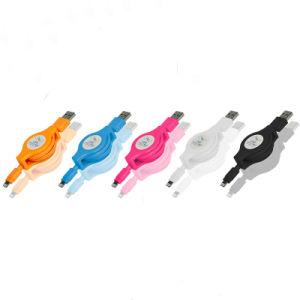 Фги сертифицированных складной молнии, кабель micro-USB молнии портативный гибкий кабель для синхронизации данных зарядки iPhone X 8 7 6 s 6 Plus