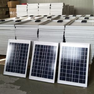 50W de Output van het zonnepaneel
