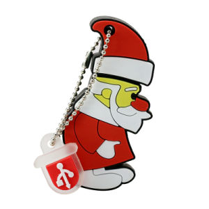 Флэш-накопитель USB с Санта Клаусом Диск бесплатно судна