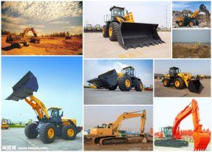 中国の油圧掘削機最も売れ行きの良い22トンの車輪の