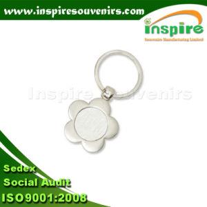 Trousseau vide en forme de fleur pour cadeau promotionnel