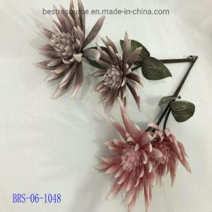 Toile de fond populaire géant belle et grande fleur artificielle de décoration en mousse