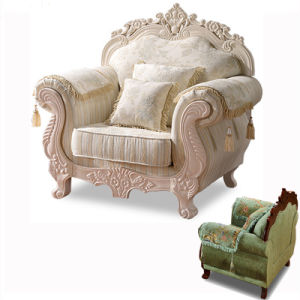 Tejido clásico Sofá sofás seleccionable por el color y plazas (603)