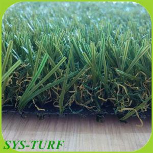 Landschaftsgestaltung des synthetischen Gras-, Ausgangs-und Garten-Dekoration-Grases