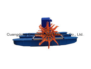 aeratore della rotella di pala degli stagni di pesci 1.5kw