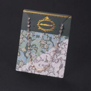 Scheda su ordinazione operata dei monili di marchio di Sinicline per gli orecchini e la collana