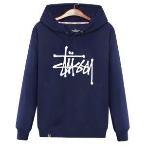 Homem de qualidade superior de impressão personalizado Suéteres Hoody casual de logotipo