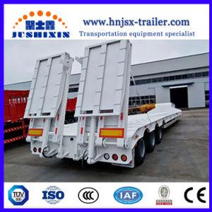 Preço de concorrência 3 eixos 60 Ton Lowboy/Caminhão Baixa semi reboque na China