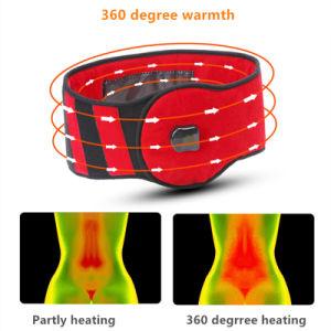 La terapia de la almohadilla de calor por infrarrojos de la correa de cintura para bajar/dolor de estómago/Alivio de tensión