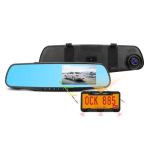 De VideoSpiegel DVR van de Camera van de Sensor van het Parkeren van de Camera van de Auto HD 1080P Dubbele