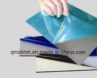 고무 접착제를 가진 파란 스테인리스 격판덮개 PE 보호 필름