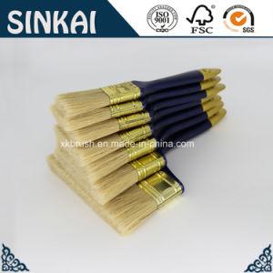 Natürlicher Farbanstrich-Pinsel des Borste-Flachpinsel-3inch mit Fabrik-Preis