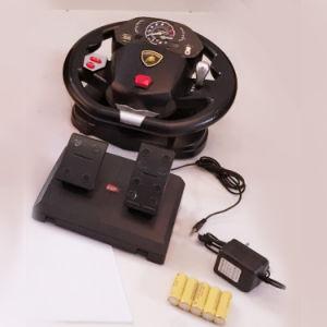 1: 14 de grote Auto van het Stuk speelgoed van de Afstandsbediening van de Deur van het Stuurwiel Open Elektrische met Pedaal