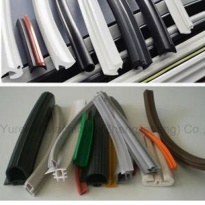 연약한 엄밀한 Windows 문 PVC 기계장치를 만드는 고무 밀봉 틈막이 지구 단면도 압출기