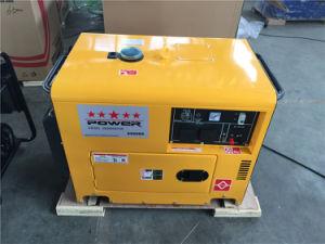 Tipo raffreddato aria generatore diesel silenzioso 5kVA