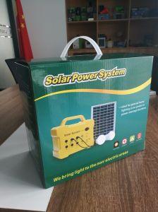 Bewegliches SolarPV/Panel/Power/Energy/Home System Gleichstrom-mit MP3/FM Radio