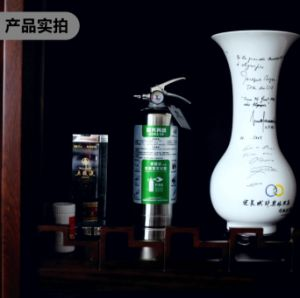 Extincteur portatif avec cylindre en acier inoxydable