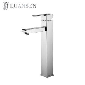 高い単一のレバーの洗面台の水栓