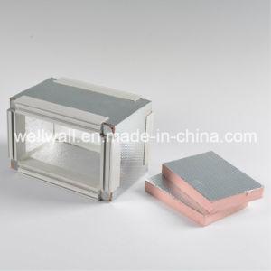 Воздуховод Pre-Insulated Phenolic из пеноматериала с алюминиевой фольги по обе стороны