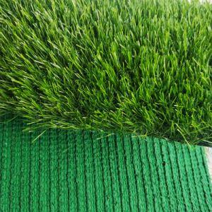 Tappeto erboso artificiale sintetico dell'erba del giardino di figura di U per la decorazione domestica