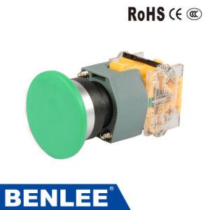 22mm Cogumelo verde do interruptor do botão
