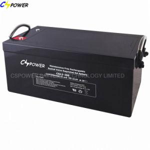 250ah Cspower 12Vのゲルの深いサイクル電池Cg12-250