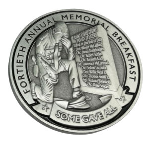 Metallfertigkeit-Förderung-Münzen 2018 der Andenken-3D mit niedrigerem Preis (080)