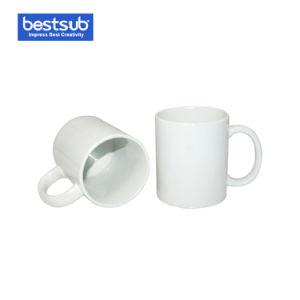 Tasse en Céramique Enduite Blanche de Sublimation de Bestsub (B101)