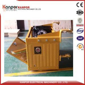 냉장된 콘테이너를 위한 던져진 냉동차 콘테이너 디젤 엔진 Genset의 밑에 24kw