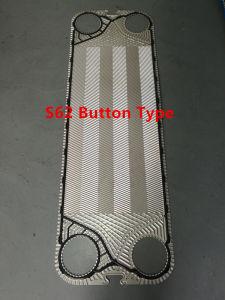 Gasketedの版の熱交換器のためのSS304 SS316L C276のチタニウムS62版