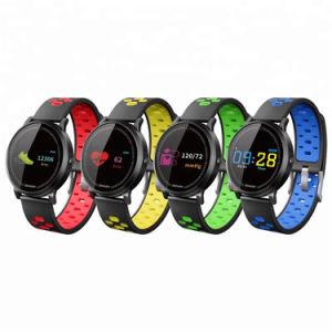 F4sのスマートな腕時計のスポーツの歩数計のリスト・ストラップの心拍数の血圧のモニタの手首のブレスレット