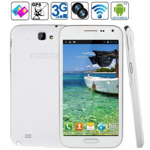 Nota II N7100W MTK6572 Telefone Inteligente de núcleo duplo