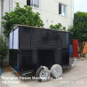 Ys-Fw390 дерева Fast Food мобильных продуктов питания прицепа на кухне Ван