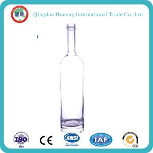 공간과 색깔 유리를 가진 50mm/375ml/500ml/700ml/750ml /1L 주류 또는 정신 또는 보드카 또는 위스키 또는 럼 또는 Water//Brandy/Wine 유리병