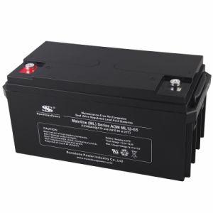 Китай производство глубокую цикл аккумуляторной батареи 12V65ah свинцово-кислотного аккумулятора
