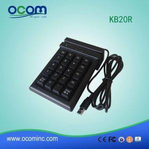 Het standaard Toetsenbord van Pinpad USB van 20 Sleutels voor POS