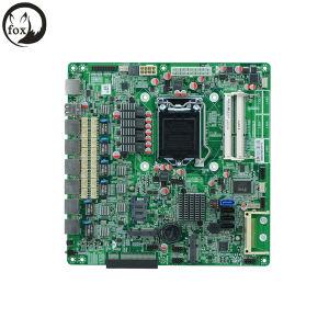 6 근거리 통신망을%s 가진 방화벽 Appliance Motherboard ATX Power, LGA1155 B75, 2*Bypass